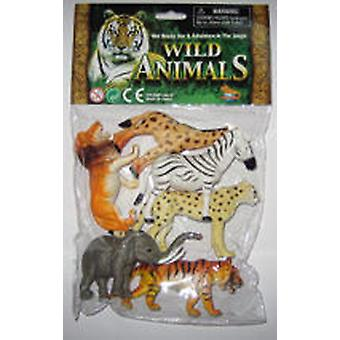 Dimasa Bag 6 Sm Forest Animals (Toys , Dolls And Accesories , Miniature Toys , Animals)
