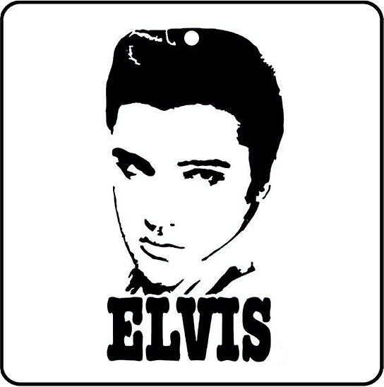 Elvis Presley Pompadour Car Air Freshener