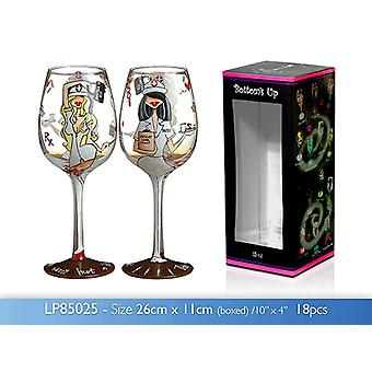 15oz TLC Wine Glass Novelty Birthday Wedding Party Gift Idea