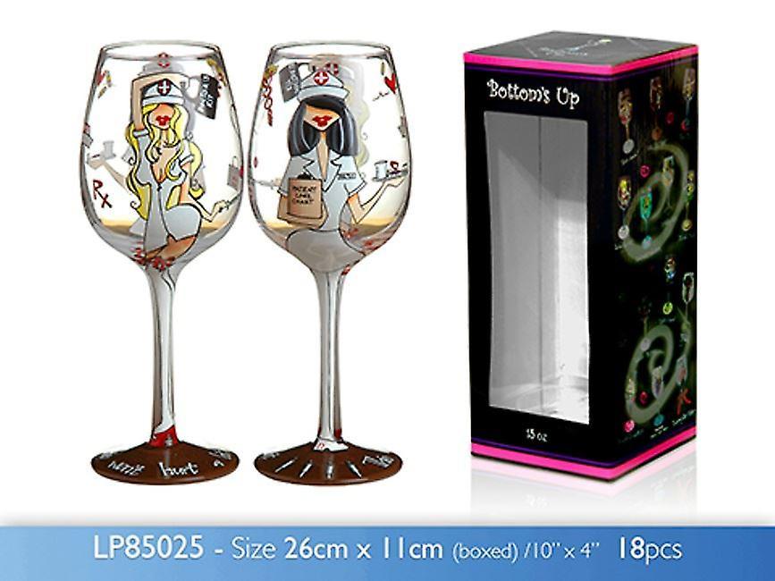 15oz TLC Wine Glass Novelty Birthday Wedding Party Gift Idea