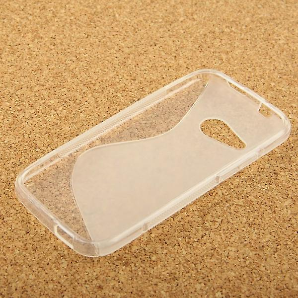 Silicone case S-line transparent case for HTC one mini 2 M5 2014
