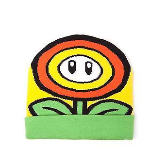 Super Mario Bros Sunflower con risvolto Beanie - multi-colore (KC170201NTN)