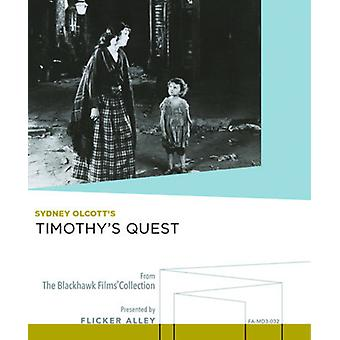 Timothy's Quest [Blu-ray] USA importerer