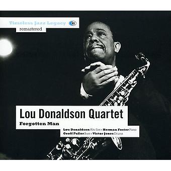 Donaldson, Lou/Qrt - glemt mand [CD] USA import