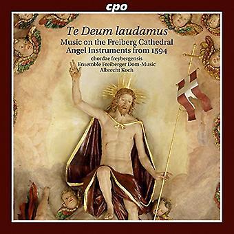 Fabricius / Monte / Lechner / Michael - Te Deum Laudamus: Music on the Angel Instruments [CD] USA import