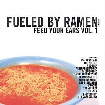 Næret af Ramen - Fueled af Ramen: Vol. 1-Feed dine ører [CD] USA import