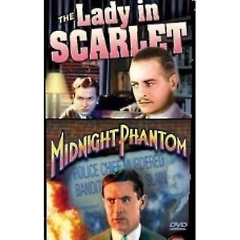 Lady in Scarlet (1935)/Midnight Phantom (1935) [DVD] USA import