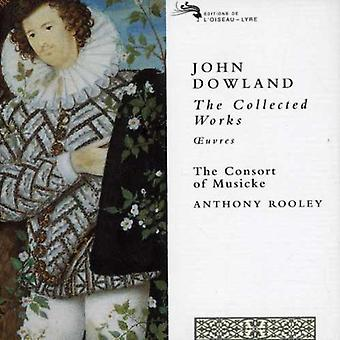Rooley/Consort of Musicke - John Dowland: The Collected Works [CD] USA import
