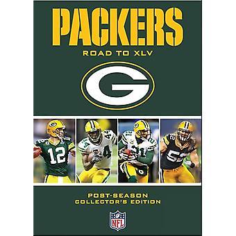 NFL Green Bay Packers: Vejen til 45 [DVD] USA importerer