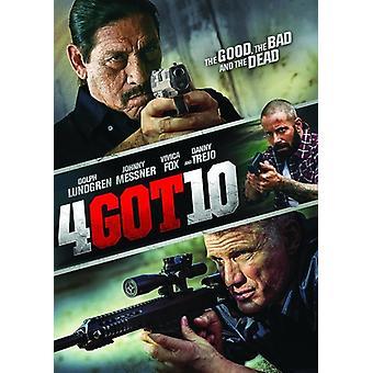 4Got10 [DVD] USA import
