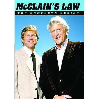 Ley de McClain: importación de Estados Unidos la serie completa [DVD]