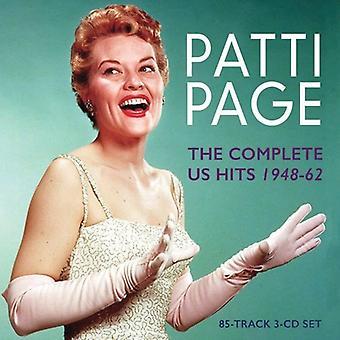 Patti Page - sida Patti-komplett oss Hits1948-62 [CD] USA import