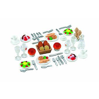 Ужин sylvanian семей два набора