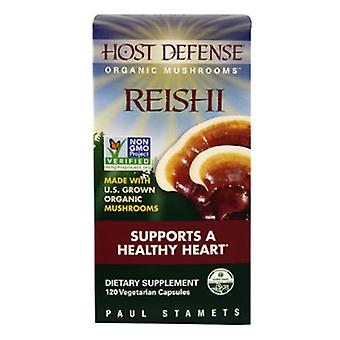 Host Defense Reishi (Ganoderma Lucidum) Capsules 120 Count