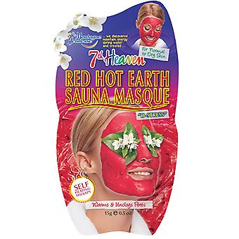 7th Heaven Face Mask Red Hot Earth Sauna Masque