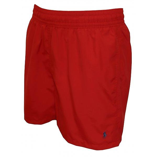 Polo Ralph Lauren Hawaiian badeshorts, kongelig rød
