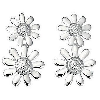 Orecchino in argento 925 fiore