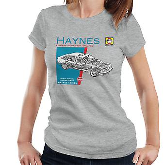 Haynes Owners Workshop Manual 0904 Ford Sierra V6 4 X 4 Women's T-Shirt