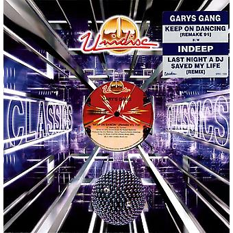 Gary's Gang/Indeep - Keep on Dancin/Last Night a D.J. Saved [Vinyl] USA import