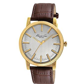 Kenneth Cole Slim Leather Mens Watch KC8043