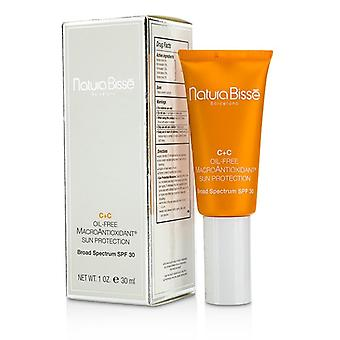 Natura Bisse C+C sin aceite MacroAntioxidant sol Protcetion SPF 30 30ml / 1oz