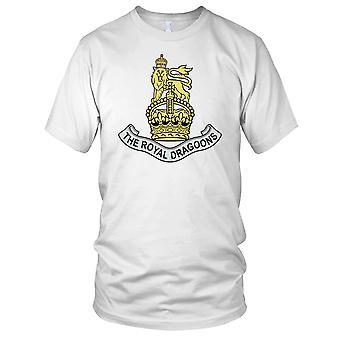 British Army 1st Royal Dragoons Mens T Shirt