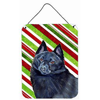 طباعة شيبيركي حلوى قصب عطلة عيد الميلاد الجدار أو الباب معلقة