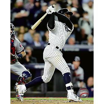Didi Gregorius 3 Run Home Run 2017 American League Wild Card Game Photo Print