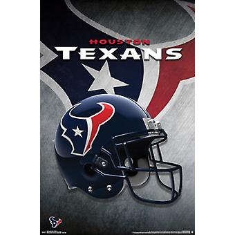 Houston Texans - helm 15 Poster Poster afdrukken