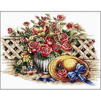 Needleart World No Count Printed Cross Stitch Kit 22
