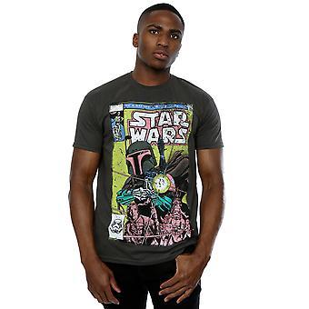 Star Wars Men's Boba Fett Comic T-Shirt