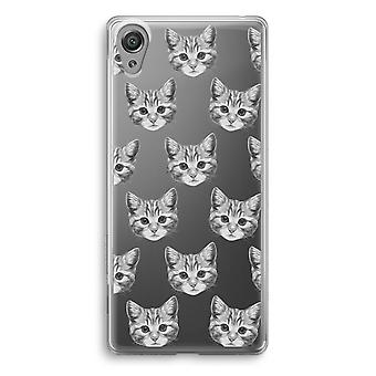 Sony Xperia XA1 Transparent Case - Kitten