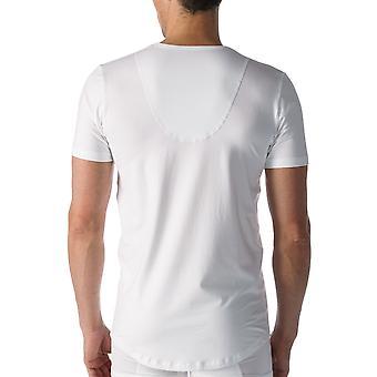 Mey 46082 Men's White Cotton Short Sleeve Top