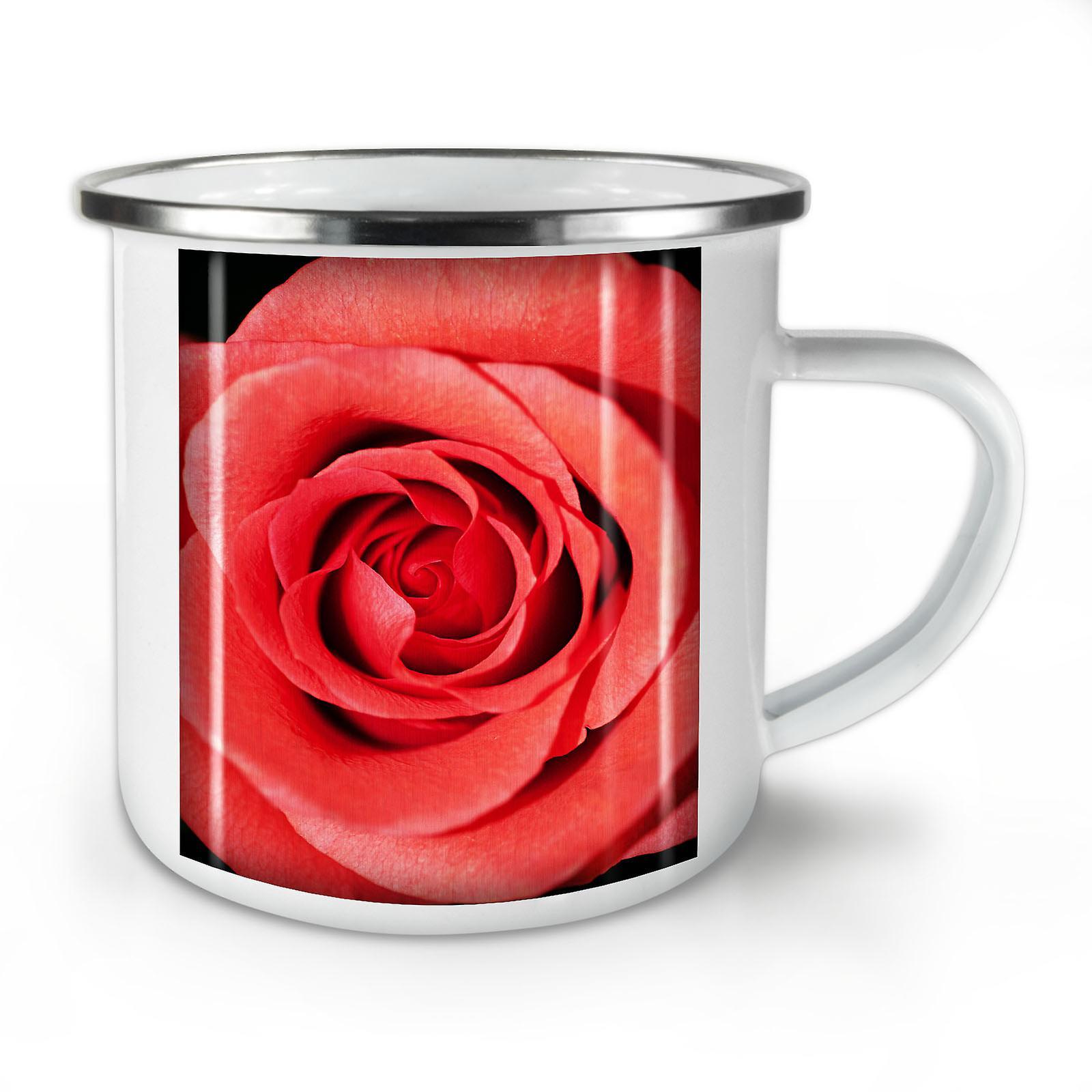 Café OzWellcoda Rose Nature Mug10 Art Whitetea Photo Nouveau Émail SVpLGjUqzM