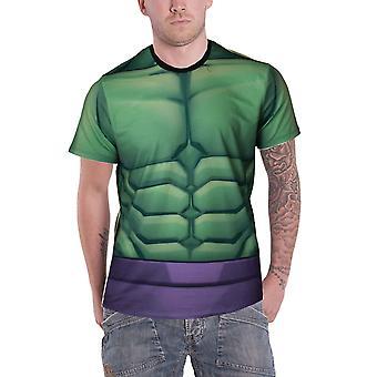 Hulk T Shirt Incredible Hulk costume new Official Marvel Mens Sub Dye print
