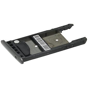 Bandeja de tarjeta SIM + microSD bandeja para Lenovo, Moto Moto G5 G5 Plus-negro