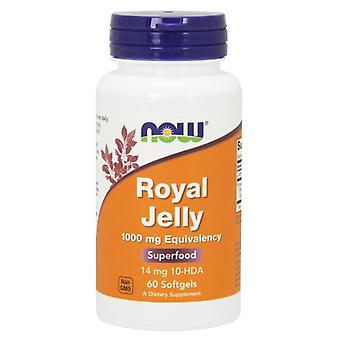 Now Foods Royal Jelly 1000Mg Equivalency 60 Softgels