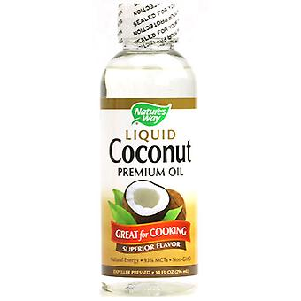 Nature's Way Liquid Coconut Premium Oil 296 ml (Vitamins & supplements , Vegetable oils)