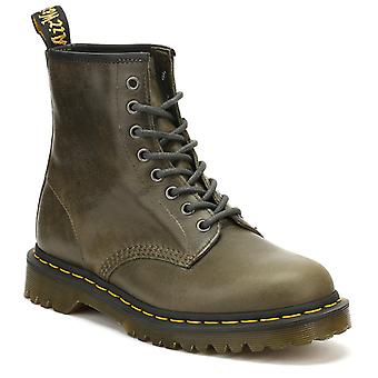 Dr. Martens Mens Dark Taupe Orleans 1460 Boots