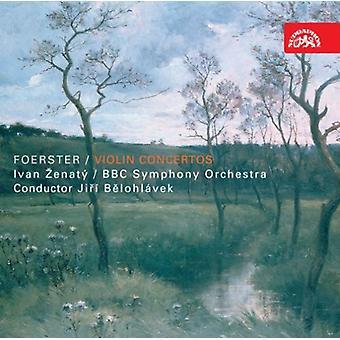 J.B. Foerster - Josef Bohuslav Foerster: Importación de Estados Unidos para violín [CD]