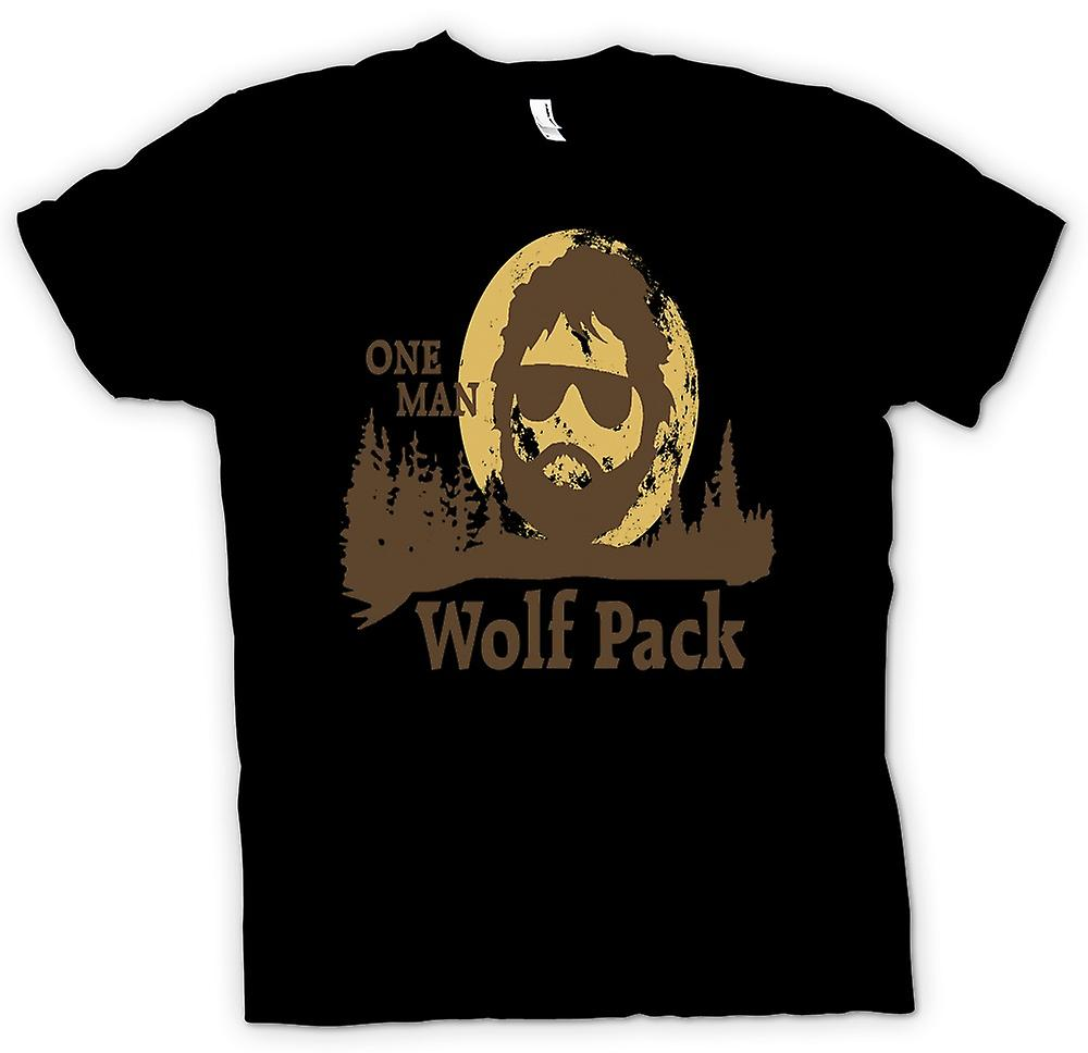 Kids T-shirt - The Hangover One Man Wolf Pack - Funny