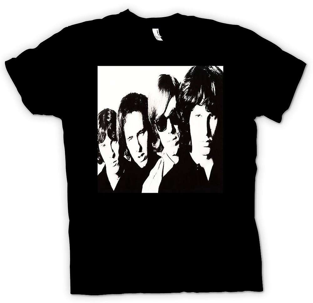 T-shirt - Le Portrait Portes Band - BW