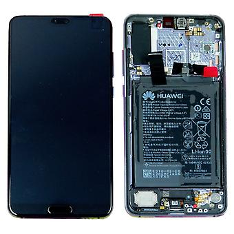Huawei display LCD unit + frame black for P20 Pro Service Pack 02351WQK