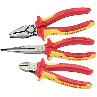 Knipex 44948 3 Piece Plier Assembly Pack
