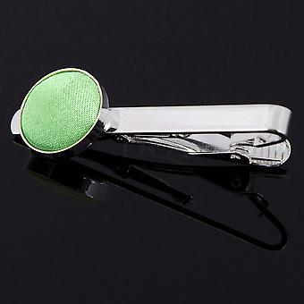 Lime Green Plain Krawattenklammer