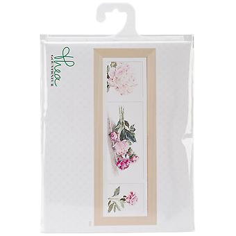 Peonies On Aida Counted Cross Stitch Kit-32.25
