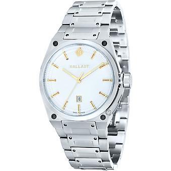 Ballast men's stainless steel watch VALIANT dress