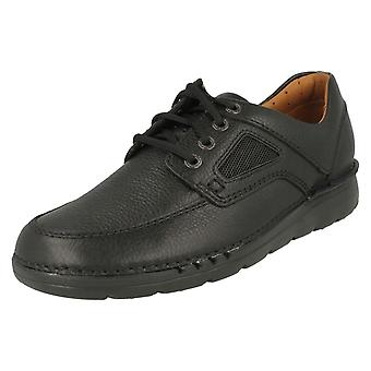 Mens Clarks Casual Lace Up Sporty Shoes Unnature Time