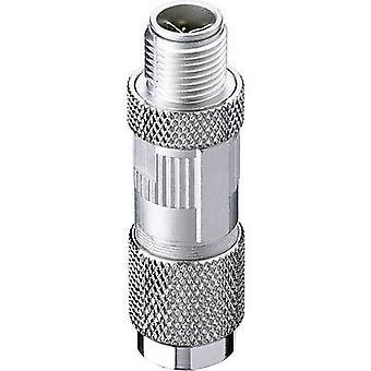 Belden 934637032 Sensor/actuator connector M12 Plug, straight No. of pins (RJ): 8 1 pc(s)