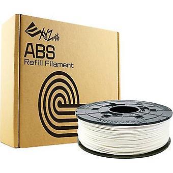 Filament XYZprinting ABS plastic 1.75 mm Pure white 600 g Refill